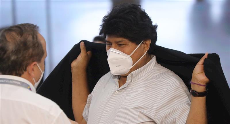 El expresidente Evo Morales. Foto: EFE