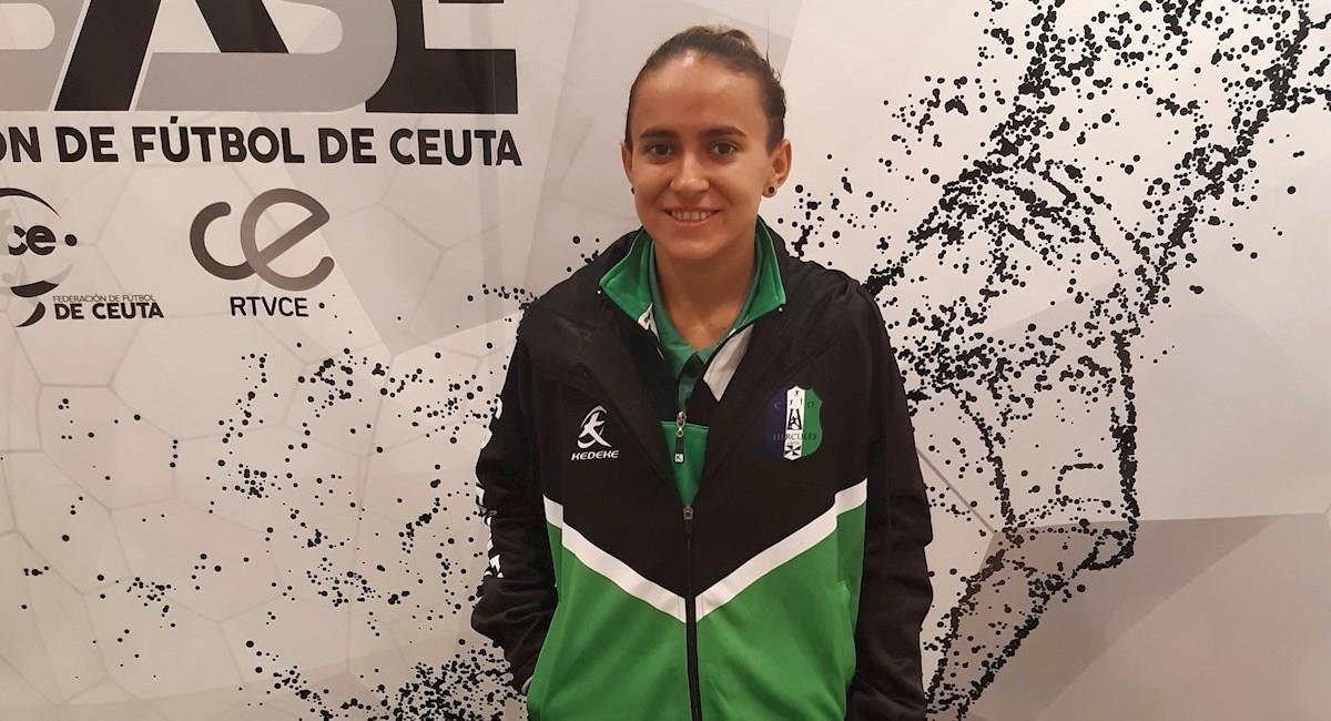 La capitana de la selección de Bolivia de fútbol-sala, María Cristina 'Coquito' Gálvez. Foto: EFE