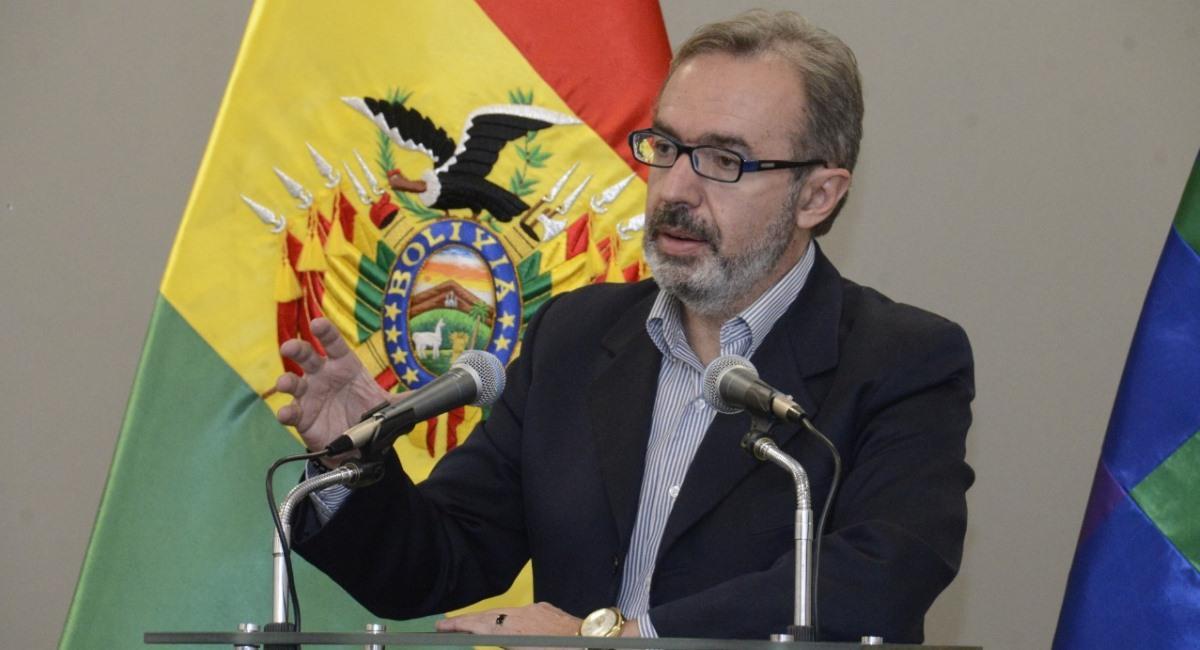 El vocero presidencial, Jorge Richter, señaló que no se establecerá una cuarentena rígida en La Paz. Foto: ABI