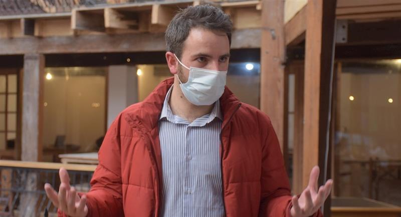 El médico español Víctor Quesada. Foto: EFE