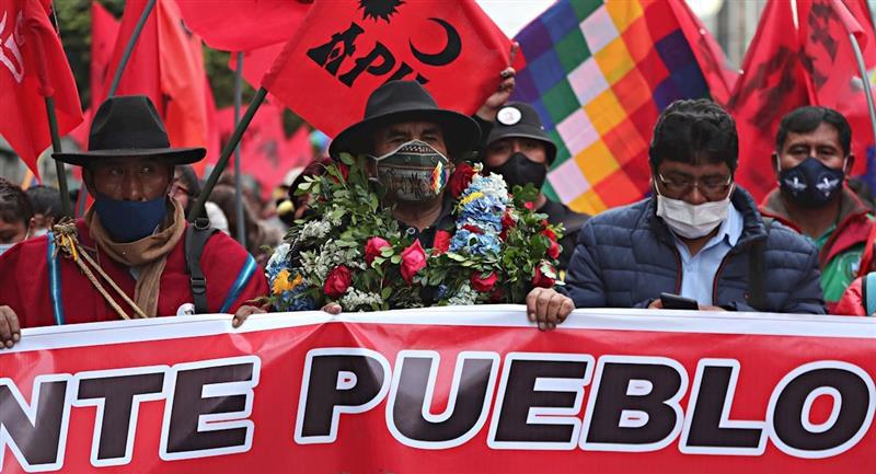 Partidos políticos realizan su campaña para las elecciones subnacionales. Foto: EFE