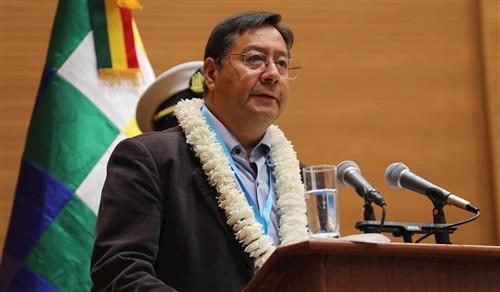 """""""Aguantar"""" la covid, el pedido del presidente boliviano hasta tener vacunas"""