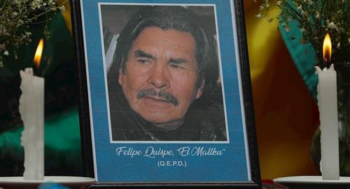 """Bolivia despide con homenajes al líder indígena Felipe Quispe, """"El Mallku"""""""