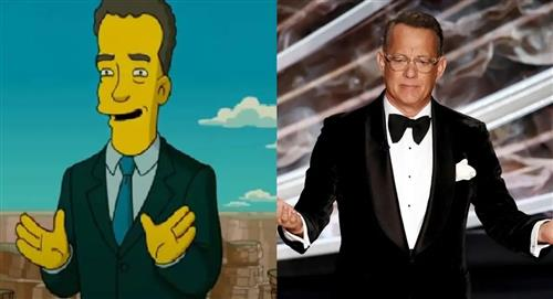 Predicción de 'Los Simpson' sobre la presencia de Tom Hanks en la toma de posesión de Joe Biden