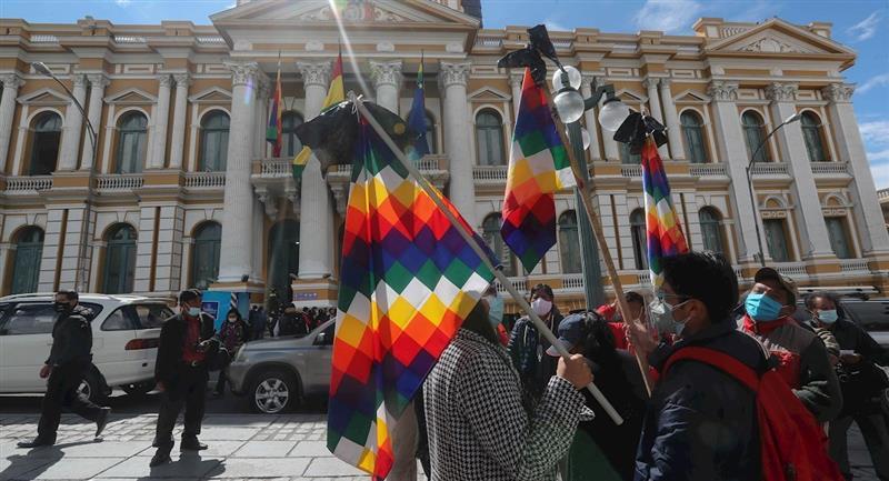 Bolivia conmemorará este viernes 22 de enero el Día del Estado Plurinacional. Foto: EFE