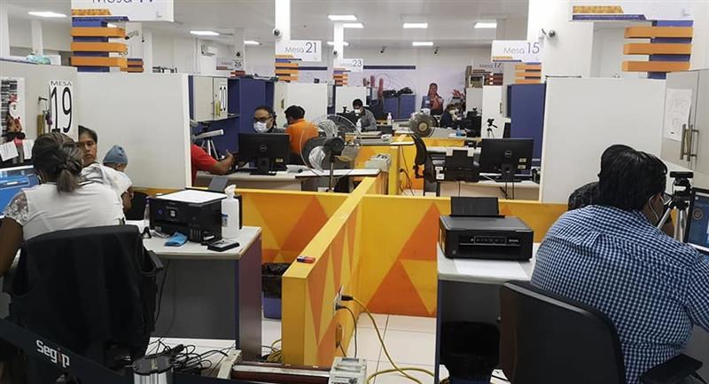 Sede del Servicio General de Identificación Personal y de Licencias para Conducir (Segip). Foto: ABI