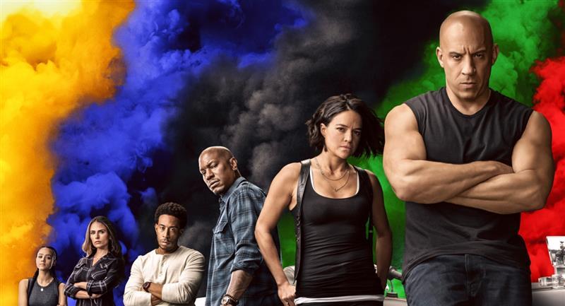 """El elenco de """"Rápidos y Furiosos 9"""". Foto: Twitter @TheFastSaga"""