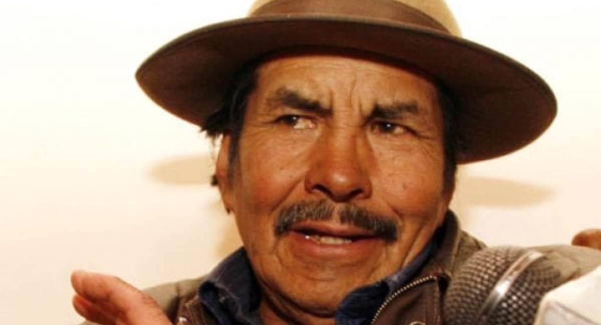 "Felipe Quispe ""El Mallku"". Foto: ABI"