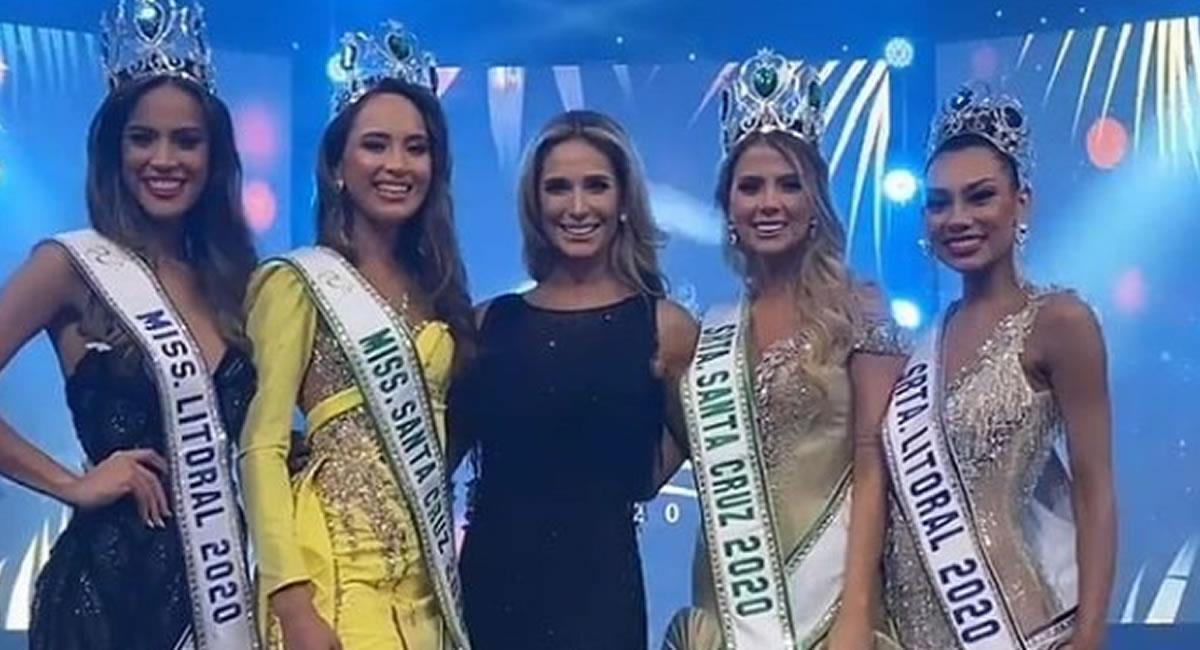 Certamen de belleza Miss Santa Cruz 2020. Foto: Instagram @boliviaquierecorona