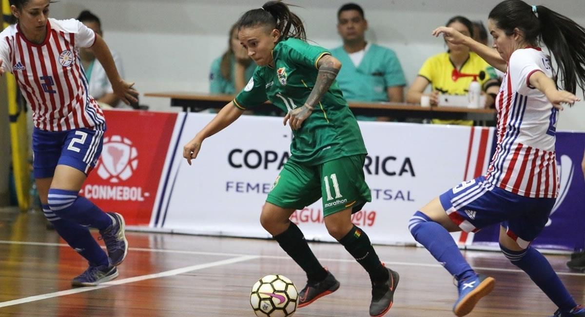 La futsalonista María Cristina Gálvez. Foto: Facebook Cokito Galvez Talavera