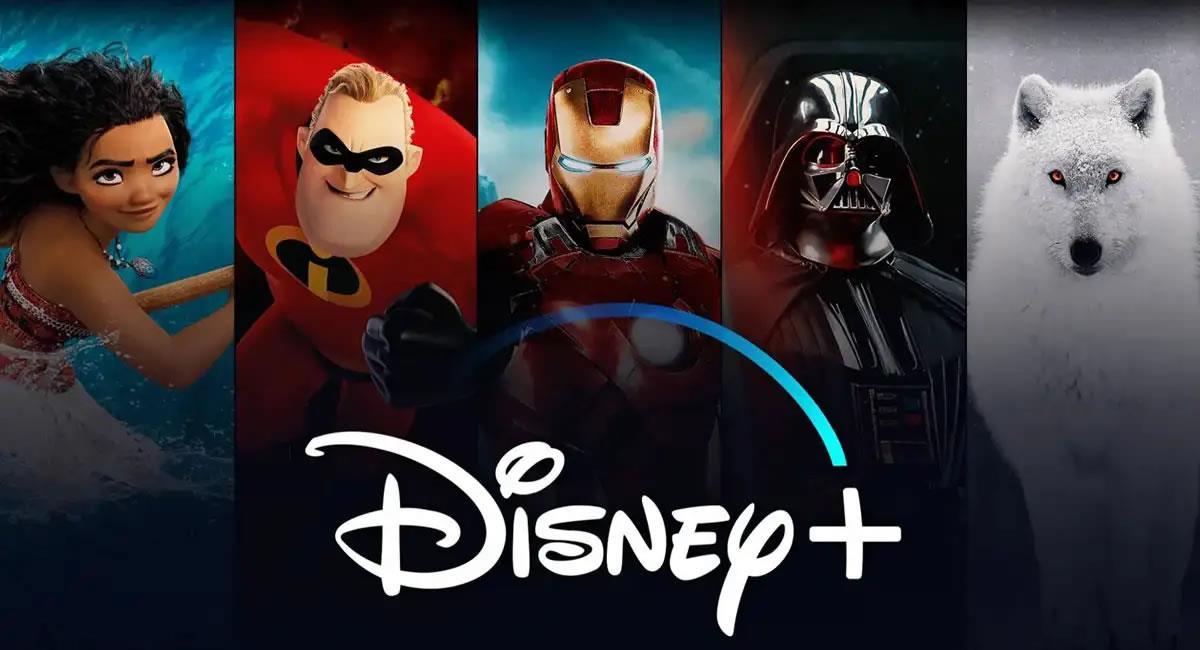 """Disney+ sigue posicionándose como una de las plataformas de """"streaming"""" más populares de Bolivia. Foto: Twitter @disneyplusla"""