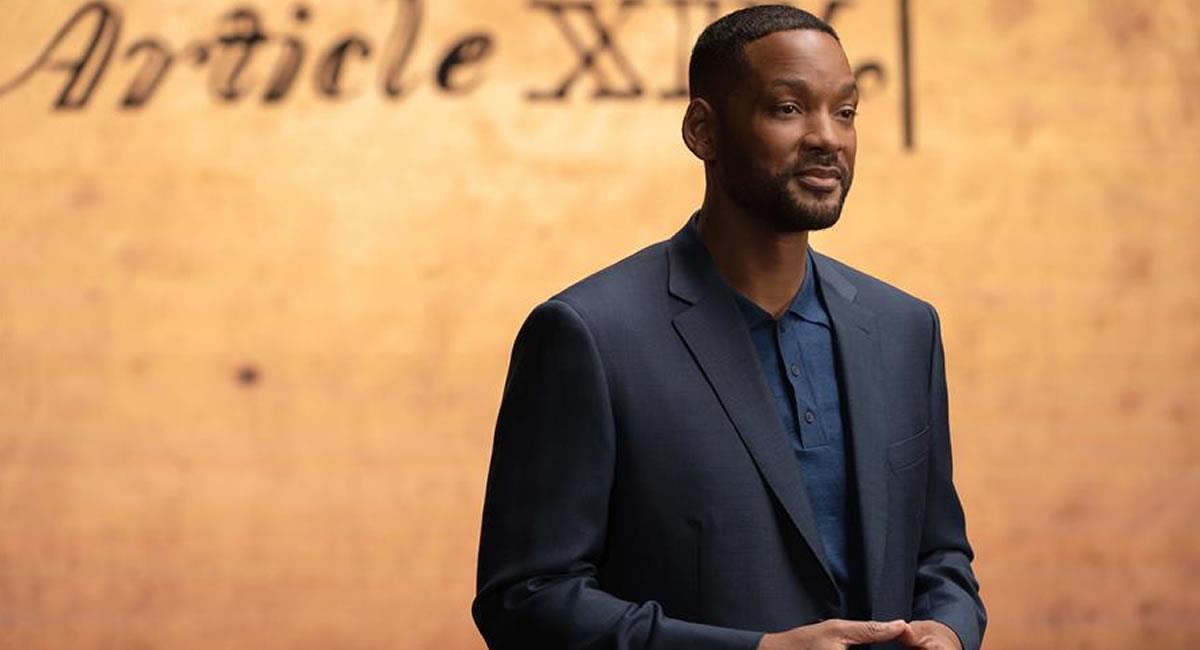 Escena de la nueva serie en la que participa Smith como presentador. Foto: EFE