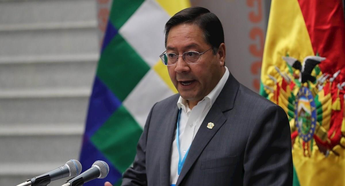 El presidente Luis Arce. Foto: EFE