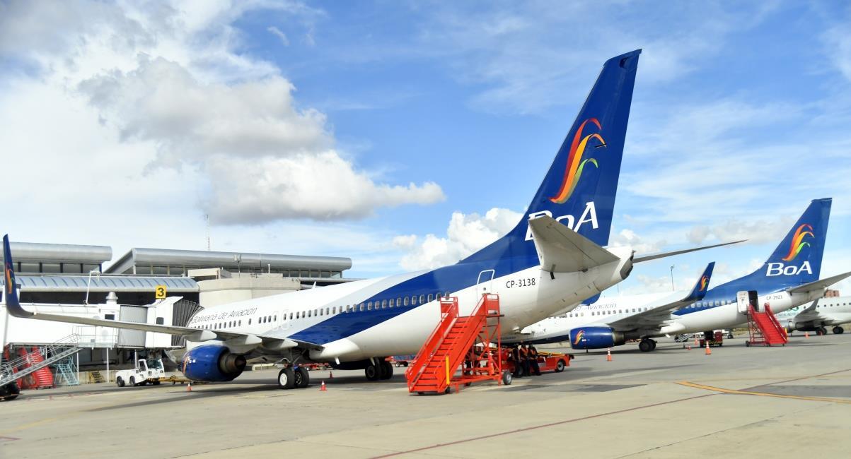Boliviana de Aviación. Foto: ABI