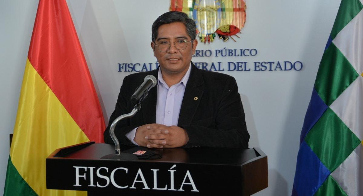 El secretario de la Fiscalía General del Estado, Edwin Quispe. Foto: ABI