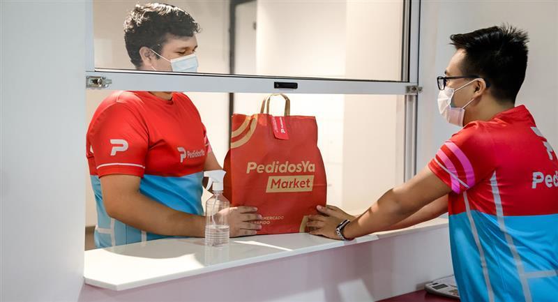 Más de 1500 productos disponibles en el supermercado online. Foto: Cortesía PedidosYa