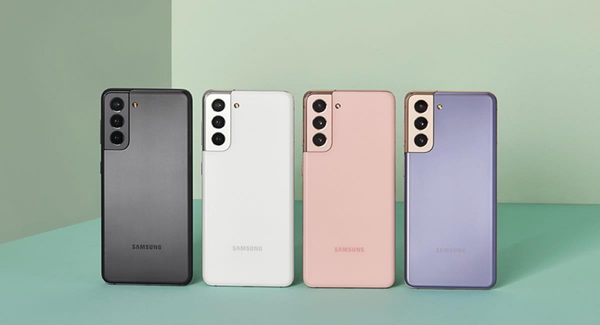 Conoce las series del Galaxy S21. Foto: Cortesía Samsung