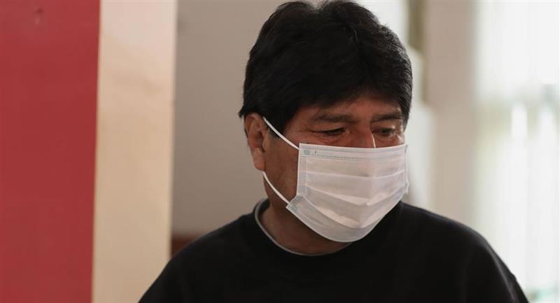 Máximo dirigente del Movimiento al Socialismo (MAS), Evo Morales. Foto: EFE