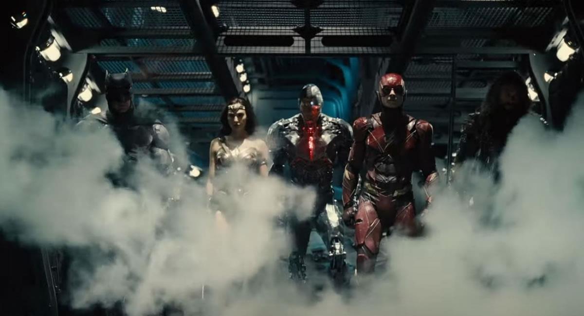 Primeras imágenes del tráiler de 'La Liga de la Justicia'. Foto: Youtube / Captura HBO Max