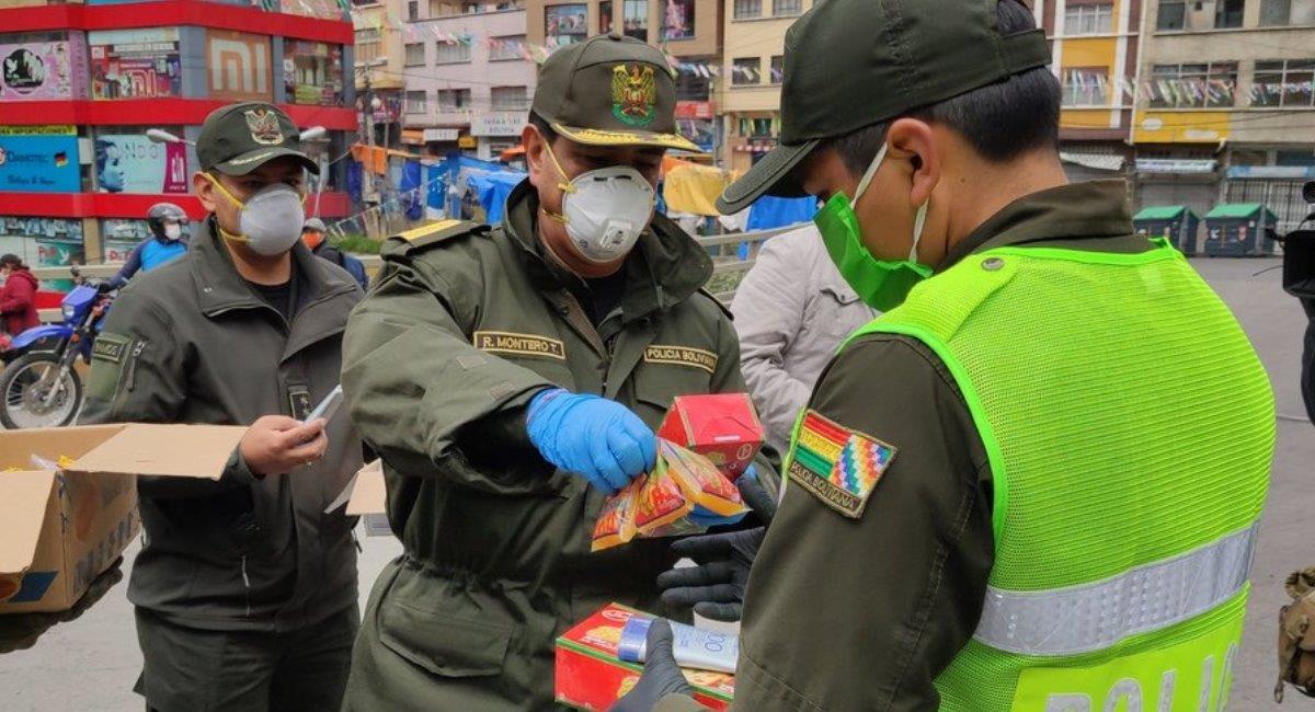 La Policía reporto este año un 30.8% menos de delitos en Carnaval. Foto: ABI