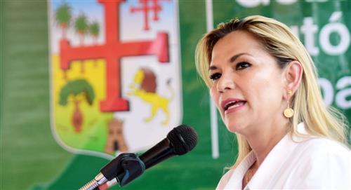 Evalúan abrir un proceso contra Áñez por el préstamo con el FMI
