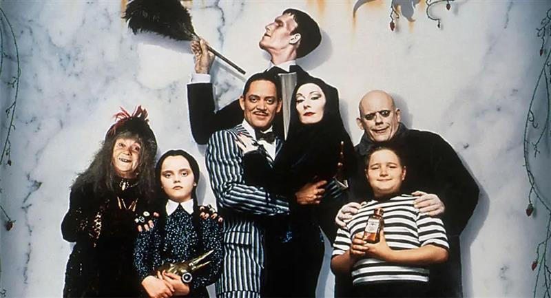 Serie sobre 'La Familia Addams'. Foto: Filmaffinity