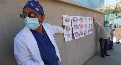 Sector salud boliviano se declara en paro contra ley de emergencia sanitaria