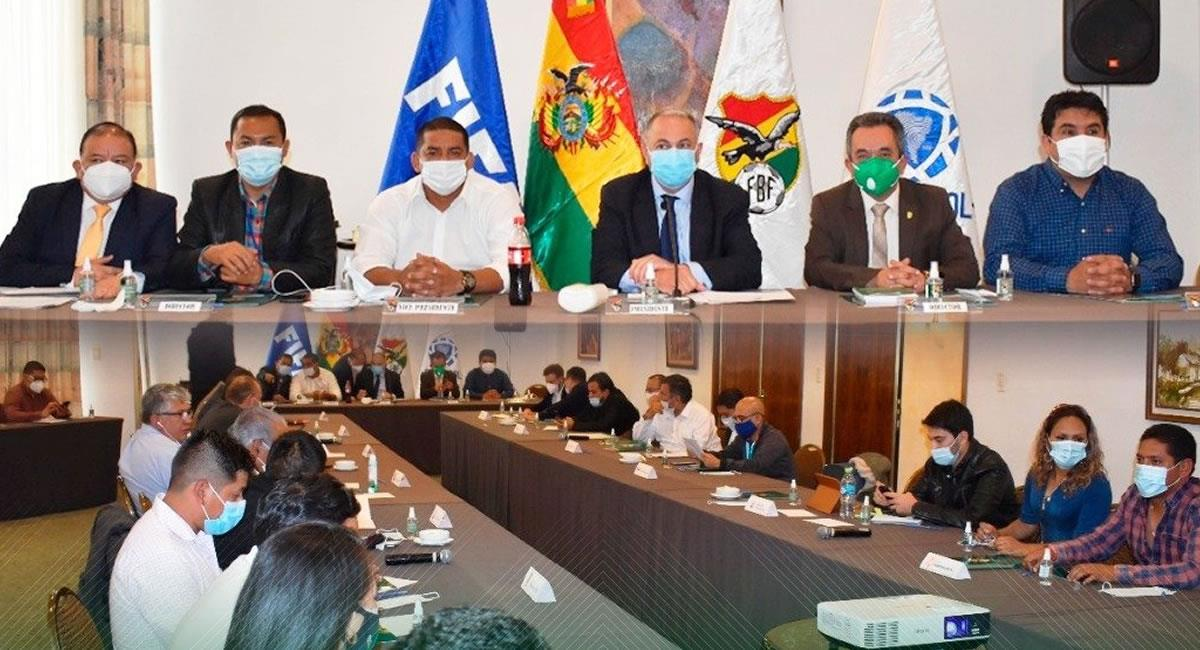 Consejo de la División Profesional. Foto: Twitter @FBF_BO
