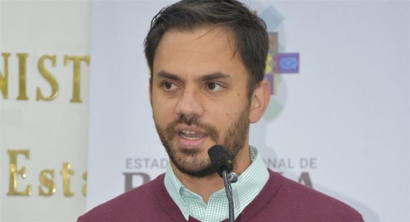 El ministro de Gobierno, Eduardo del Castillo. Foto: ABI