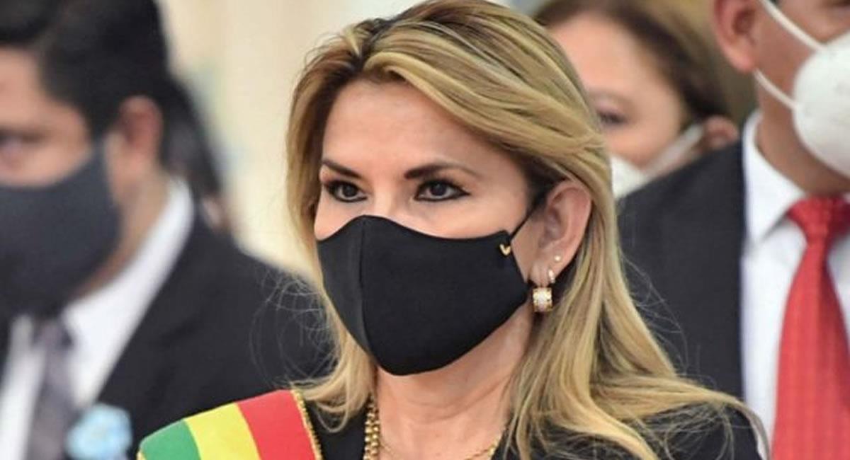 Expresidenta transitoria de Bolivia, Jeanine Áñez. Foto: ABI