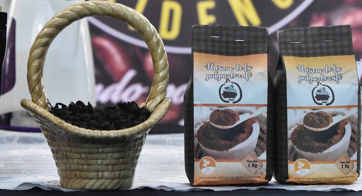 Café a la venta durante la subasta electrónica de café el 18 de febrero de 2021 en La Paz. Foto: EFE