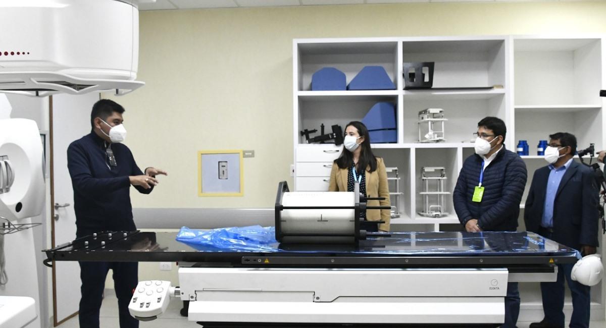 El Centro de Medicina Nuclear está casi listo para su entrega. Foto: ABI