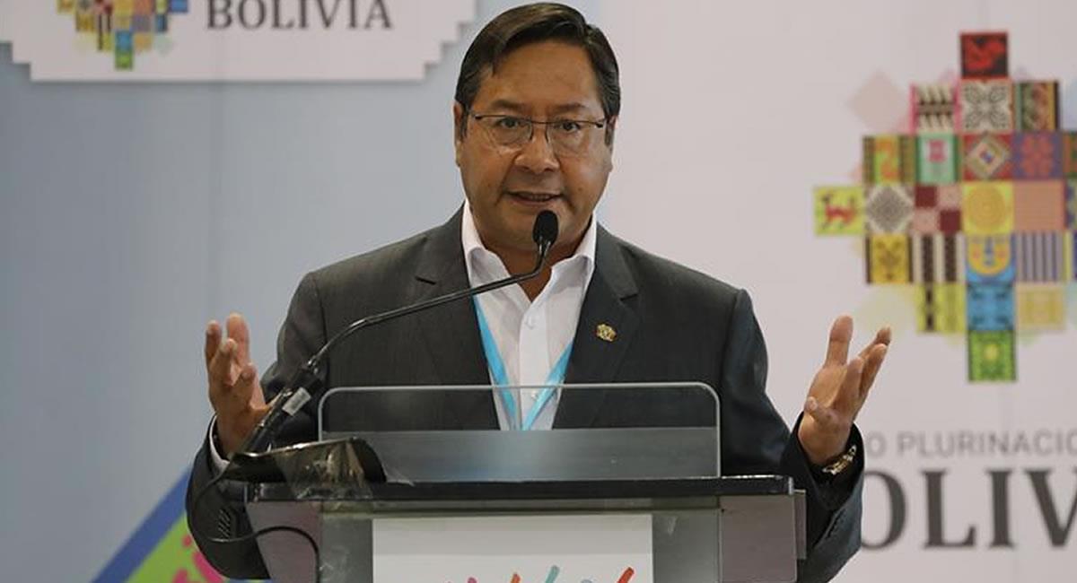 Presidente de Bolivia, Luis Arce Catacora. Foto: EFE