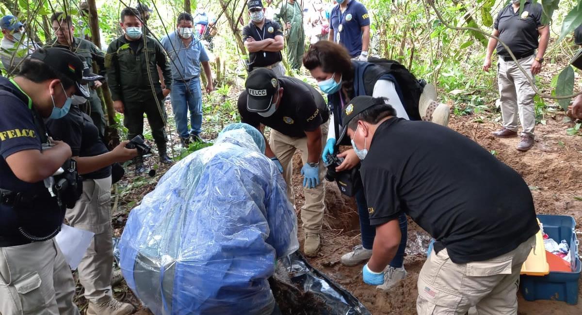 La Policía encuentra el tercer cuerpo de una mujer en Tres Arroyos, Villa Tunari. Foto: ABI