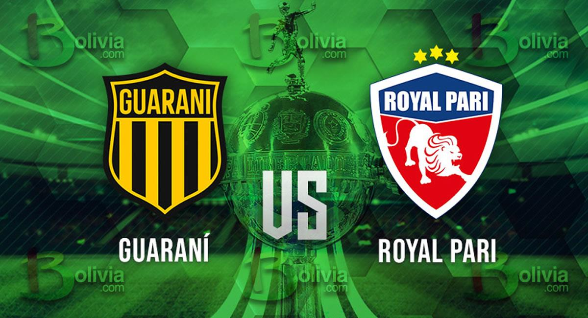 Guaraní vs Royal Pari. Foto: Interlatin