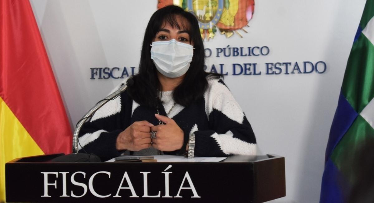 La directora de la Fiscalía Especializada en Delitos en Razón de Género y Juvenil, Pilar Díaz Berríos. Foto: ABI