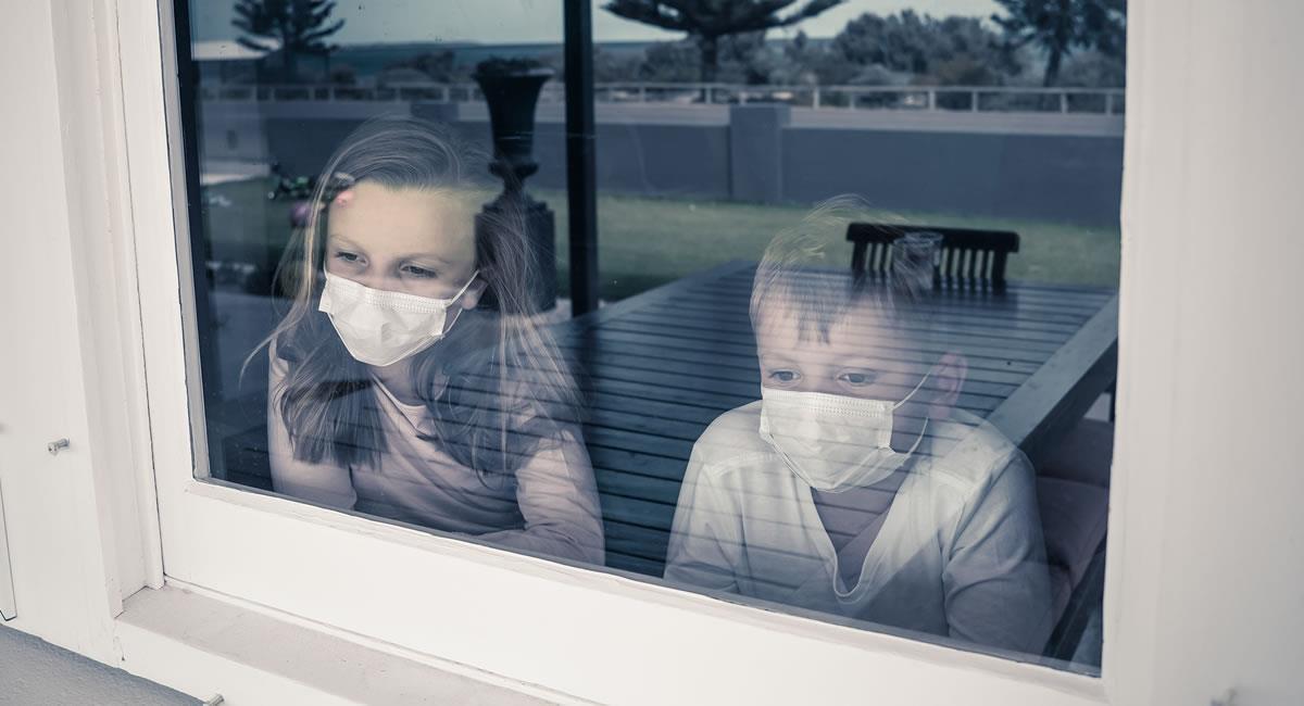 La gran mayoría de los niños han sufrido de depresión y ansiedad durante el confinamiento. Foto: Shutterstock