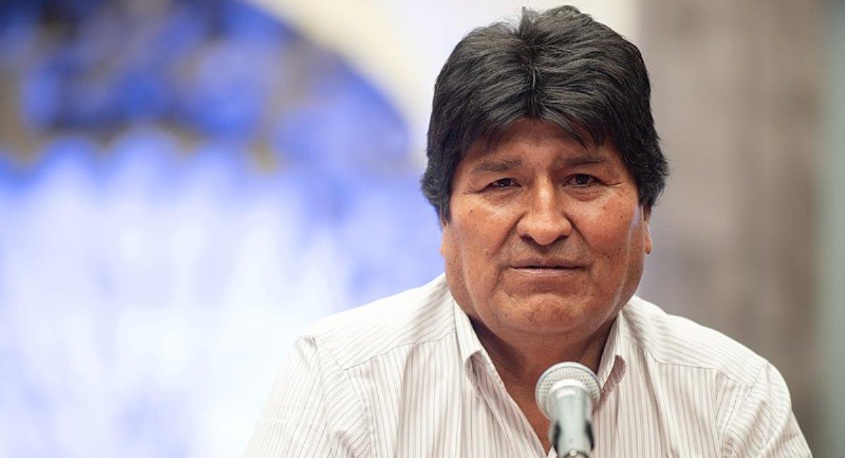 El expresidente Evo Morales. Foto: ABI