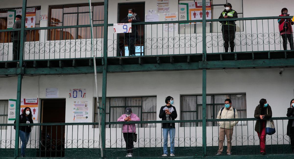 Bolivia dio inicio a la jornada de elecciones subnacionales. Foto: EFE