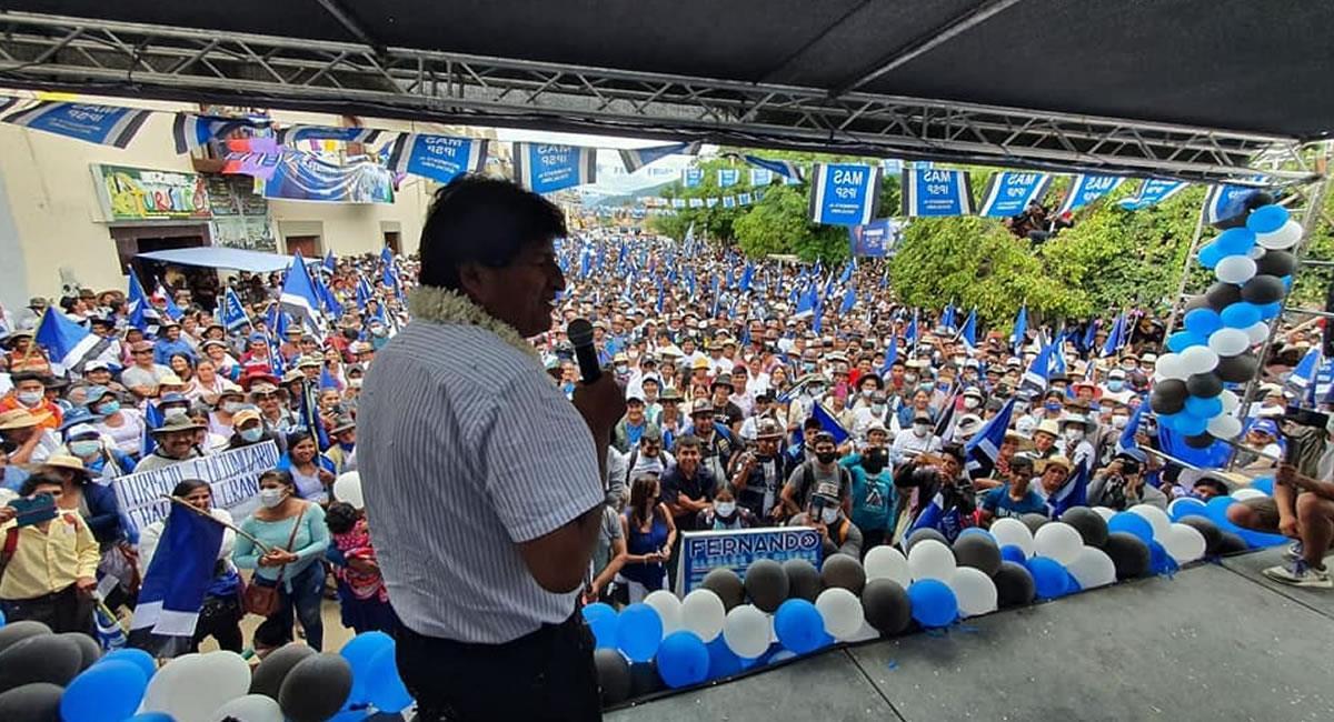 Partido político Movimiento al Socialismo (MAS). Foto: ABI