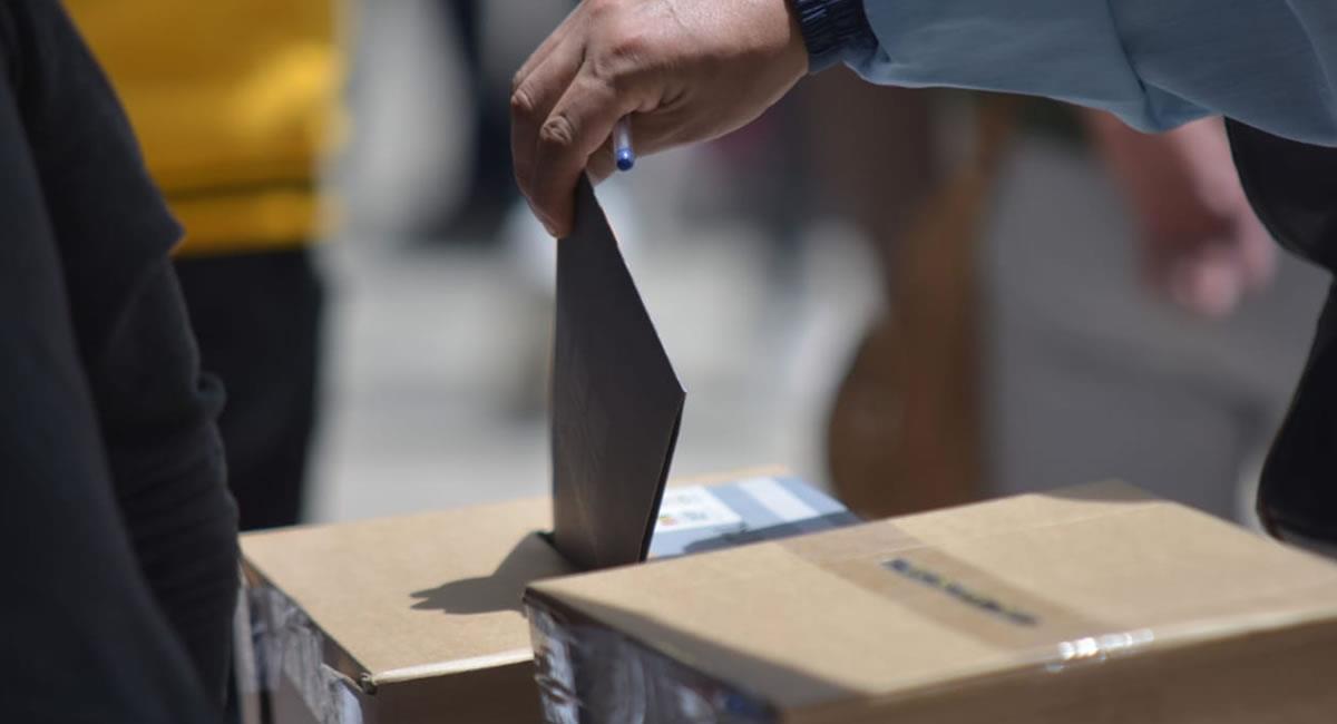 Incidentes electorales. Foto: ABI