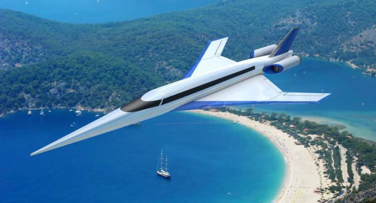 El avión supersónico costaría unos 100 millones de dólares. Foto: Spike Aerospace