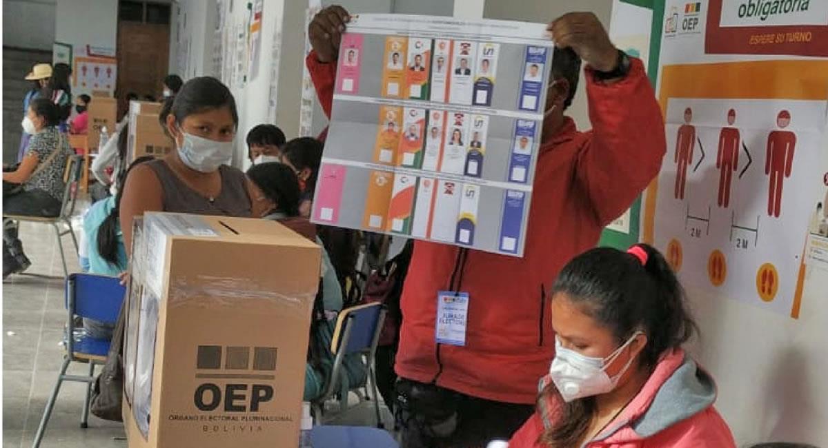 Segunda vuelta electoral en 4 gobernaciones. Foto: ABI