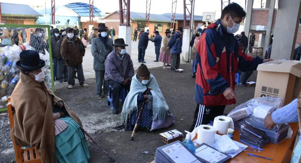Elecciones subnacionales el pasado 7 de marzo. Foto: ABI