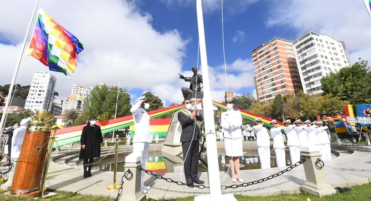 Actos conmemorativos en Bolivia. Foto: ABI