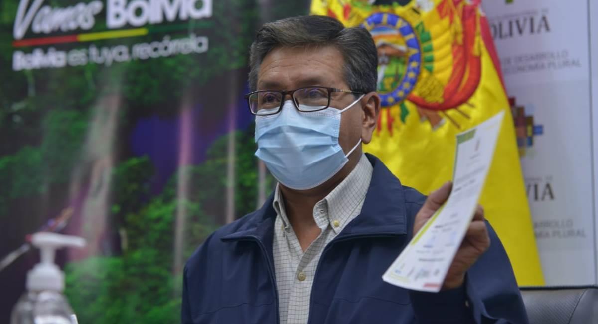 Gobierno otorgó certificados de bioseguridad a los prestadores de servicios turísticos. Foto: ABI