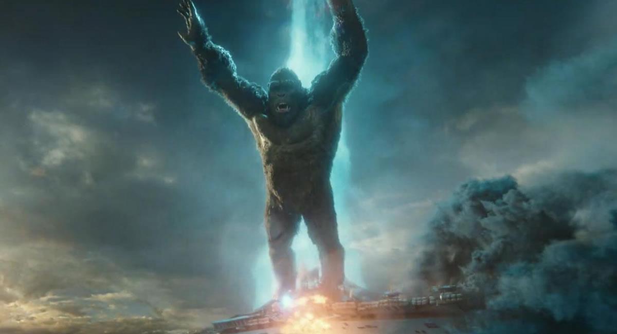 'Godzilla vs. Kong' aprovechó el fin de semana largo para reinar sin discusión en el cine. Foto: Filmaffinity