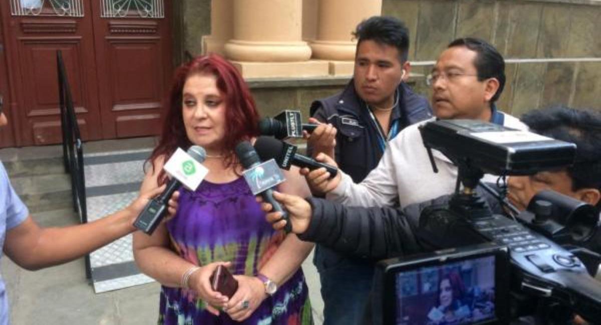 La jefa de epidemiología boliviana, María Bolivia Rothe, anunció su renuncia. Foto: ABI