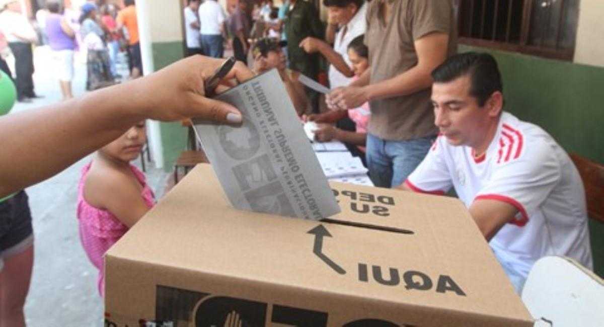 Elecciones subnacionales. Foto: ABI