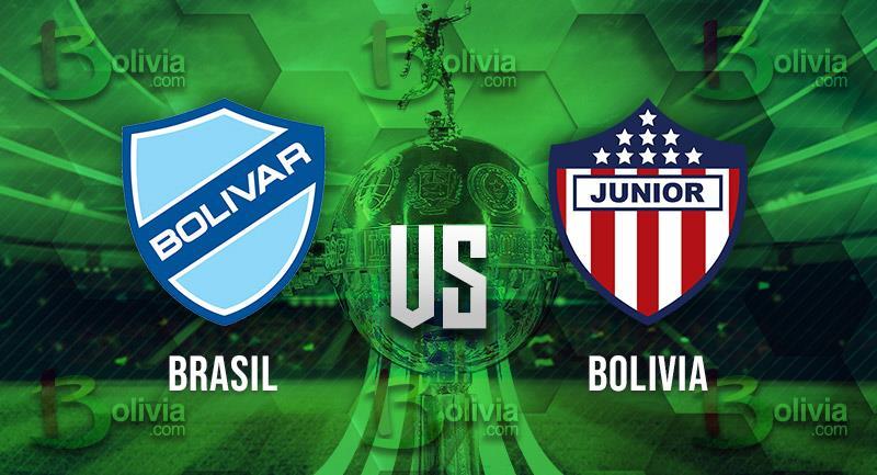 Bolívar vs Junior. Foto: Interlatin